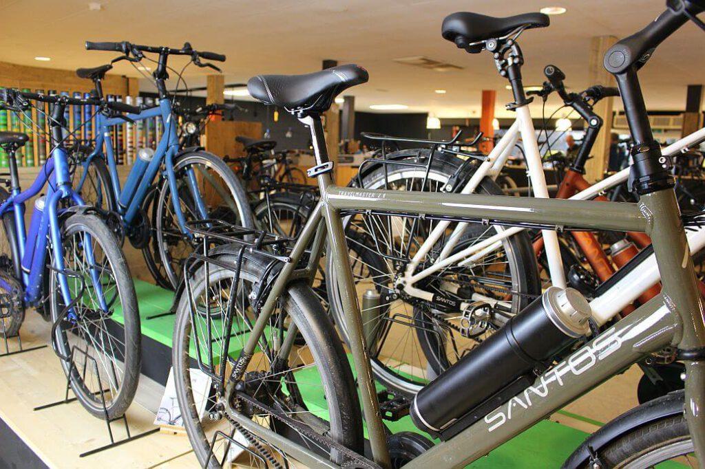 Elektrische fietsen santos