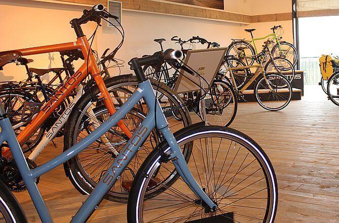 Santos Bikes bij Sector 2 Bikes & Tandems