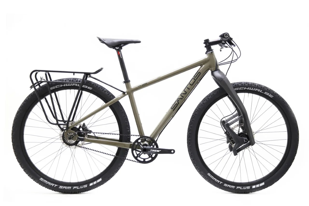 Santos mountainbike 4_29 Rohloff riem