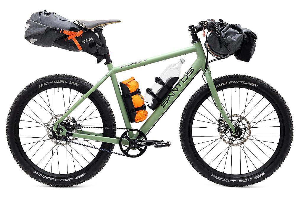 Santos Travelmaster 3+ bikepacking