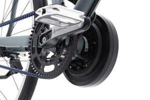 Santos elektrische fiets, pendix systeem