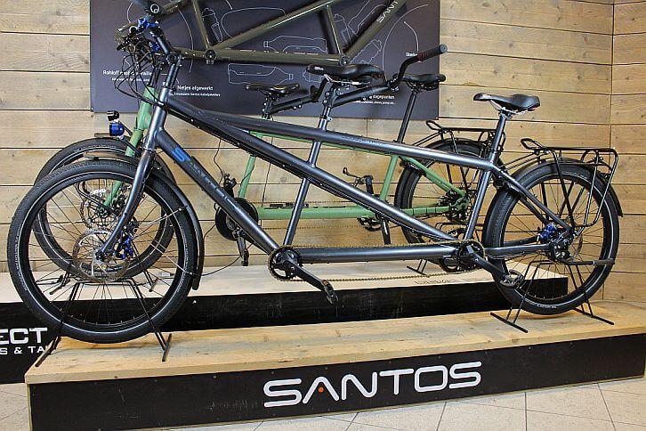 Santos tandems bij Sector 2 Bikes & tandems