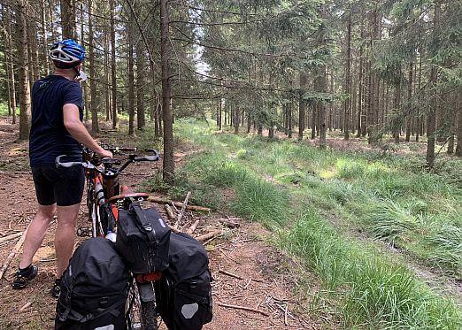 Tandem in ardennen bart sector 2 bikes en tandems