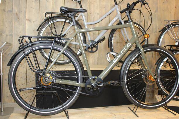 fiets voor lange mensen Santos grote maat frame